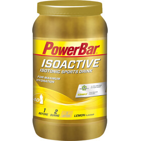 PowerBar Isoactive Isotonic Sports Drink Tub 1320g, Lemon